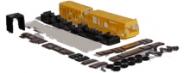 3207 - Blanco gelede geel bouwpakket schaal 1:87