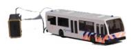 3138 -  Politiebus met werkende lampjes